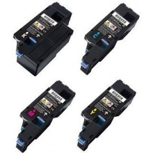 DELL 1660 C1660 1760 C1760 C1765 COMPATIBLE TONER CMYK 1-SET 4 COLORS