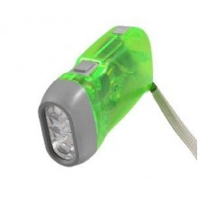 Battery Free Hand Pressing Flash Light LED Torch