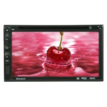 6.95' Car 2 Din DVD Player with Bluetooth/ USB Model: 6017