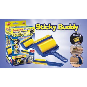 *Sticky Buddy ^Reusable Lint Roller Sticky Washable Dust Hair Remover