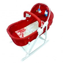 Anakku 3 in 1 Bouncer + Rocker ( Red)