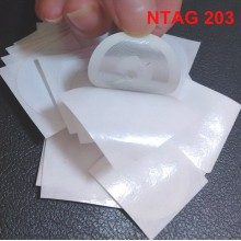 10PCS Rewritable NTAG203 NFC Stickers Mobile Phone Tags Card