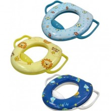 Babylove Soft-Cushioned Toilet Training Seat with Handle