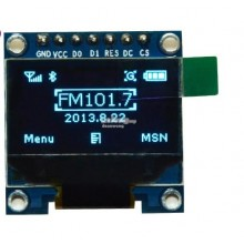 0.96 inch OLED SPI 128*64 blue backlight