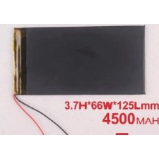 3.7V 4500mah iPAD3 Lithium Ion Battery for Tablet or DIY project