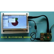 7 inch touch panel LCD for raspberry PI plug and play