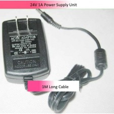 24V 1 A Power Supply Unit 5.5*2.1 mm connector