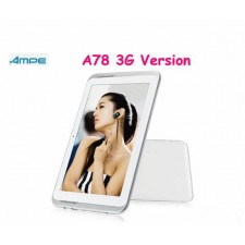 Cheapest 7' IPS 1024*600 Ampe A78 Dual Core 3G Phone GPS