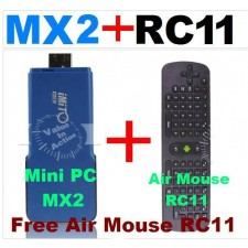 Price Drop! Android Latest TV Stick Imito MX2 with RC11 Airmouse