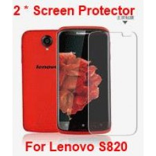 2 pieces Clear Screen Protector for Lenovo S820