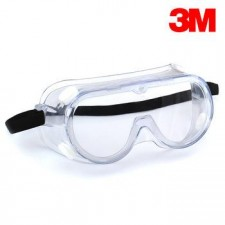 3M 1621AF Safety Goggles for Chemical Splash (with Anti-Fog)