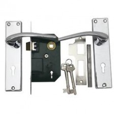 Yale L315 Chrome Lever Mortise Lock