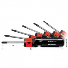 6 in 1 Compact Screwdriver-JETECH SI-107