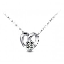 Melody of Love Genuine 925 Sterling Silver Necklace
