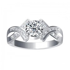 Elfi 925 Genuine Silver Engagement Ring P11 - The Maiden of Love