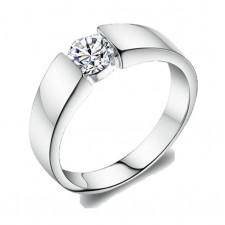 Elfi 925 Genuine Silver Engagement Ring P5 - The Devoted