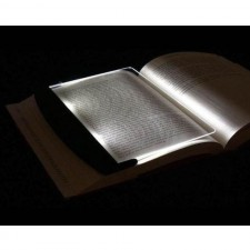 Portable LED Read Panel Light Book Reading Lamp Night Vision For Trave