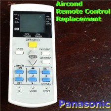 Panasonic aircon air cond airconditioner remote control replacement