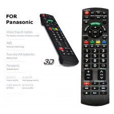 PANASONIC LCD / LED TV REMOTE CONTROL replacement spare part 3D AV