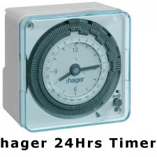 Hager EH711 24hrs Analog Timer Switch Wall Mount Wiring