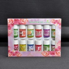 (6 packets of) Scent Fragrance Oil (12pcs/set of different flavours)