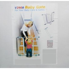BABY AND KIDS SAFETY GATE WITH EXTENSION V2, for baby mum kids