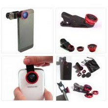 3 in 1 ( fish eye , macro & wide angle ) universal Clip Lens