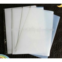 A3 silk screen printing semi transparent waterproof inkjet film 100pcs