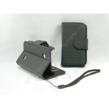 Sony Xperia Tipo ST21i Book Side Flip Leather Case Pouch
