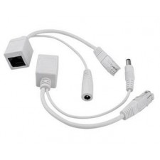 CCTV IP Camera Cable RJ45 POE Injector Cable DC 5.5X2.1mm