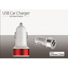 Double Dual USB Port In Car Charger 2A ,fashion design