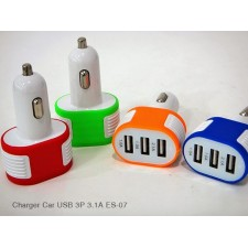 CIYOCORPS ES-07 Universal USB Interface 3 Port 3.1A In Car Charger