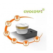 CIYOCORPS Cup Shaped Travel Charger UK Plug 5V 3.1a 3USB Adapter