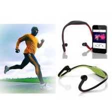 Wireless Sport Headphone with Bluetooth / mp3 / FM / TF CARD Function
