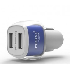 CIYOCORPS ES-01 Dual USB Interface In Car Charger 5V 1A / 2.1A Output