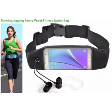 Universal for 5.5 inch Sport Waist Belt Pouch Bag Clear Touch Scree