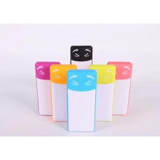 E-Element A7 10400mAH Cute Rechargeable Power Bank Double USB Charger