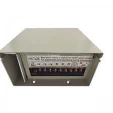 Metal Case Reliable Rainproof Power Supply 12v 10A LED Strip And CCTV