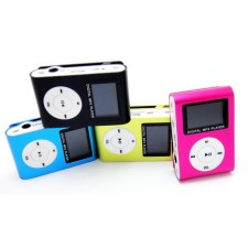 Small Cute MP3 With Display Screen Mini USB and TF Card Slot