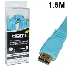 1.5 Meter Flat HDMI To HDMI 1.4V Version Cable For 1080P Full HDTV