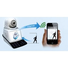 4 in 1 Wireless Mobile Phone Network Camera w/ Video Call Chat CCTV