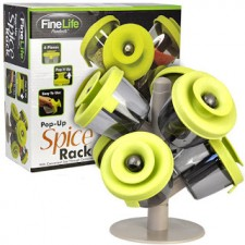 Fine Life Pop-up 6 Containers Spice Rack Storage Tree TV PRODUCT