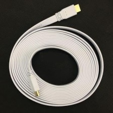 High speed HDMI1.4V white hdmi cable cord lead 10meter