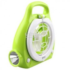 3-in-1 Multi-Function Reading Lamp And Flashlight Fan DP-686