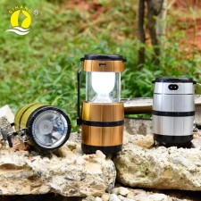 ZJ-518 Led Torch Solar Charging Lantern For Camping & Emergency Purpo