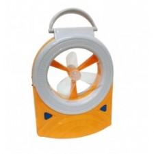 DP 5570 RECHARGEABLE DESK FAN PORTABLE EMERGENCY LIGHT AND TORCHLIGH