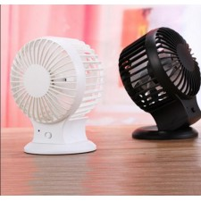 Double blade Mini USB Fan with Built in Rechargeable Battery