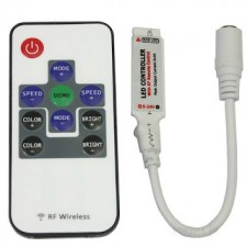 RF Wireless RGB Remote Controller LED Color Light For RGB LED Stri