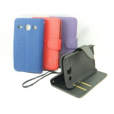 Samsung Galaxy Core I8262 Book Side Flip Leather Case Casing Pouch