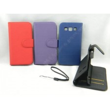 Samsung Galaxy Win I8550 I8552 Book Side Flip Leather Case Pouch